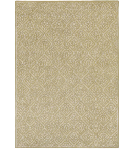 Surya CAN1914-913 Modern Classics 156 X 108 inch Green and Neutral Area Rug, Wool photo