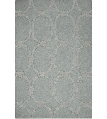 Surya CAN1990-1616 Modern Classics 18 X 18 inch Medium Gray Indoor Area Rug, Sample photo