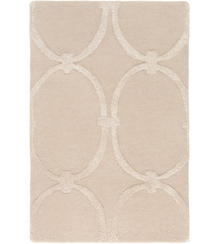 Surya CAN1991-23 Modern Classics 36 X 24 inch Neutral Area Rug, Wool photo