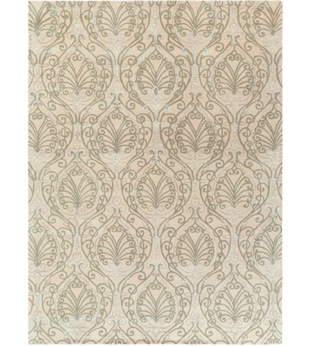 Surya CAN2012-811 Modern Classics 132 X 96 inch Gray and Neutral Area Rug, Wool photo