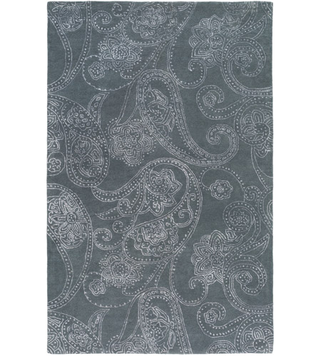 Surya CAN2078-913 Modern Classics 156 X 108 inch Gray and Neutral Area Rug, Wool and Viscose photo
