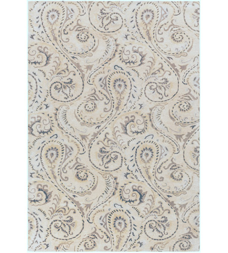 Surya CAN2085-913 Modern Classics 156 X 108 inch Neutral and Brown Area Rug, Viscose and Wool photo