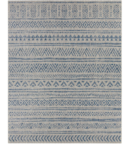 Surya EAG2306-710103 Eagean 123 X 94 inch Denim Outdoor Area Rug, Rectangle photo