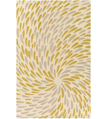Surya EGF1004-576 Flying Colors 90 X 60 inch Neutral and Neutral Area Rug, Wool photo