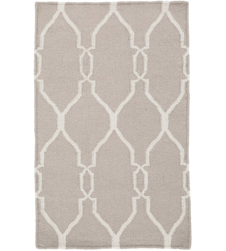 Surya FAL1003-23 Fallon 36 X 24 inch Neutral and Neutral Area Rug, Wool photo
