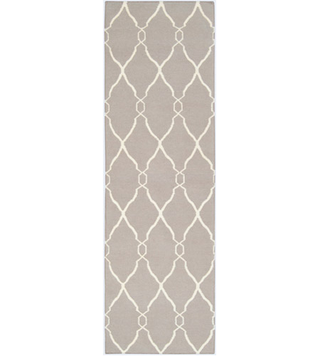 Surya FAL1003-268 Fallon 96 X 30 inch Neutral and Neutral Runner, Wool photo
