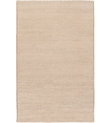 Surya FARGO105-58 Fargo 96 X 60 inch Neutral Area Rug, Wool photo