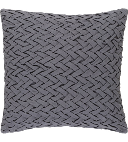 Surya FC001-2020 Facade 20 X 20 inch Grey Pillow Cover photo