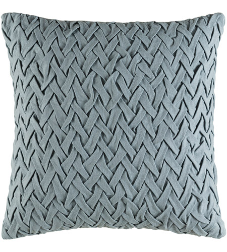 Surya FC005-2020P Facade 20 X 20 inch Sage Pillow photo