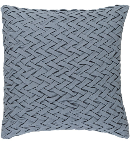 Surya FC006-2020D Facade 20 X 20 inch Medium Gray Throw Pillow photo