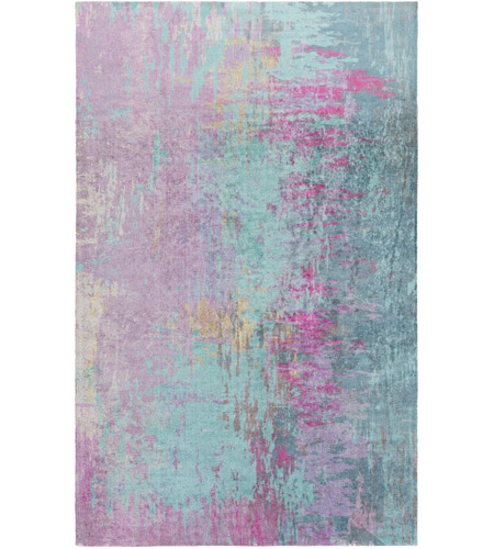 Surya FCT8003-46 Felicity 72 X 48 inch Purple and Blue Area Rug, Polyester photo