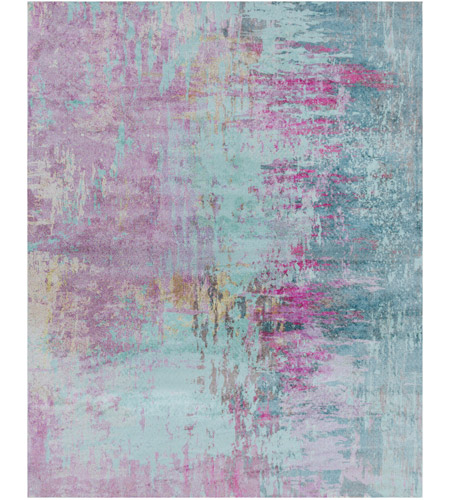 Surya FCT8003-810 Felicity 120 X 96 inch Purple and Blue Area Rug, Polyester photo