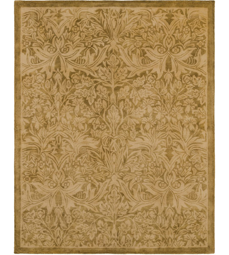Surya FGD1000-810 Fitzgerald 120 X 96 inch Neutral and Brown Area Rug, Wool photo