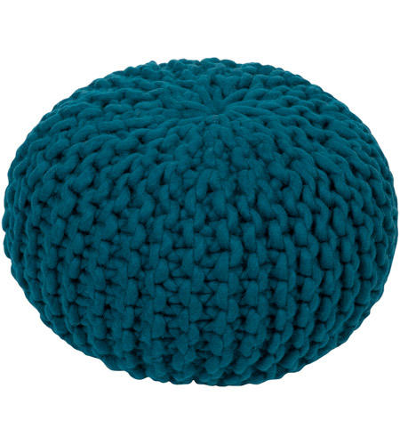 Surya FGPF-005 Fargo 14 inch Blue Pouf photo