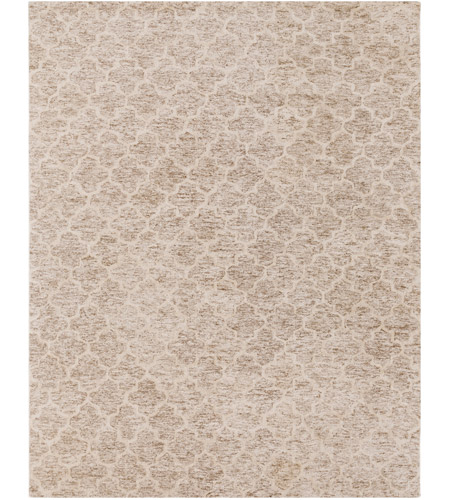 Surya FLC8001-810 Falcon 120 X 96 inch Neutral and Neutral Area Rug, Viscose and Wool photo