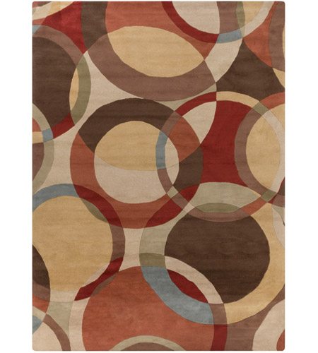 Surya FM7108-1014 Forum 168 X 120 inch Brown and Brown Area Rug, Wool photo
