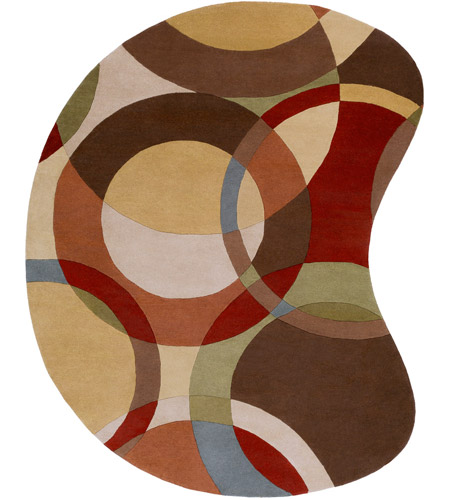 Surya FM7108-810KDNY Forum 120 X 96 inch Brown and Brown Area Rug, Wool photo