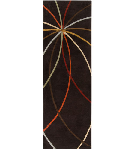Surya FM7141-312 Forum 144 X 36 inch Brown Runner, Wool photo