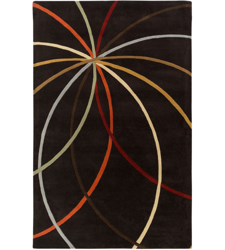 Surya FM7141-1014 Forum 168 X 120 inch Brown Area Rug, Wool photo