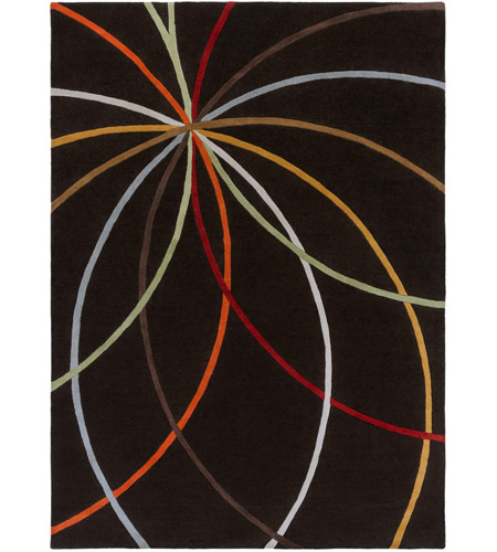 Surya FM7141-811 Forum 132 X 96 inch Brown Area Rug, Wool photo