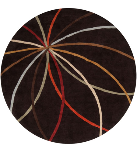 Surya FM7141-6RD Forum 72 inch Brown Area Rug, Wool photo