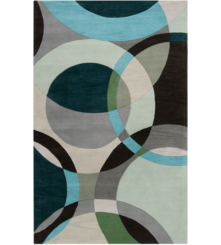 Surya FM7157-1014 Forum 168 X 120 inch Green and Neutral Area Rug, Wool photo