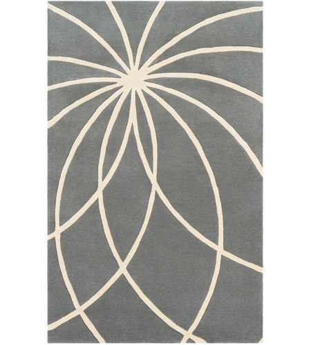 Surya FM7173-23 Forum 36 X 24 inch Gray and Neutral Area Rug, Wool photo