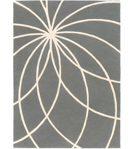 Surya FM7173-811 Forum 132 X 96 inch Gray and Neutral Area Rug, Wool photo