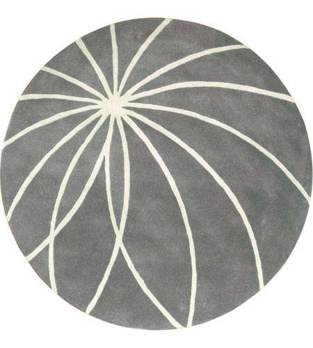 Surya FM7173-4RD Forum 48 inch Gray and Neutral Area Rug, Wool photo