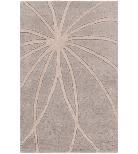 Surya FM7184-23 Forum 36 X 24 inch Gray and Neutral Area Rug, Wool photo