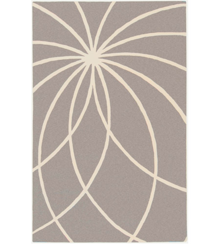 Surya FM7184-46 Forum 72 X 48 inch Gray and Neutral Area Rug, Wool photo