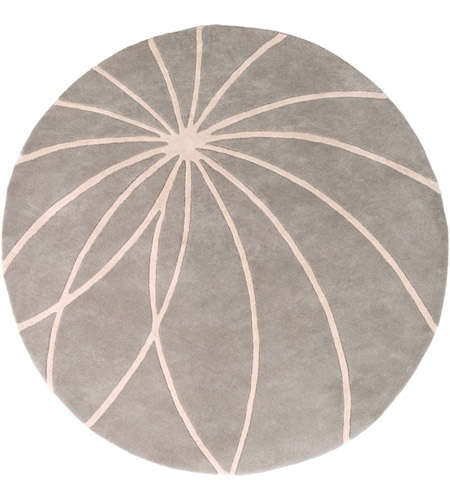 Surya FM7184-6RD Forum 72 inch Gray and Neutral Area Rug, Wool photo