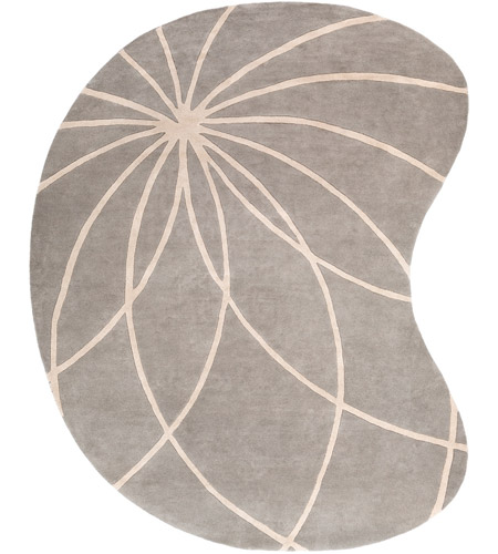 Surya FM7184-810KDNY Forum 120 X 96 inch Gray and Neutral Area Rug, Wool photo