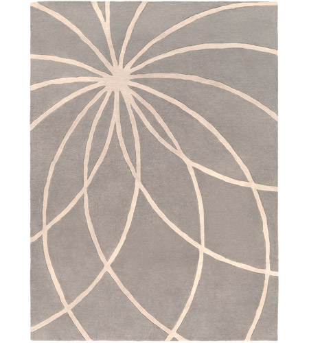 Surya FM7184-811 Forum 132 X 96 inch Gray and Neutral Area Rug, Wool photo