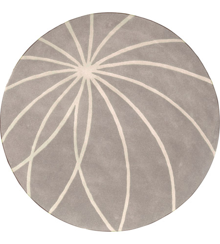Surya FM7184-99RD Forum 117 inch Gray and Neutral Area Rug, Wool photo