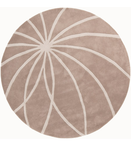 Surya FM7185-6RD Forum 72 inch Neutral and Neutral Area Rug, Wool photo