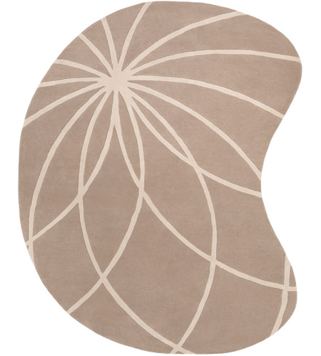 Surya FM7185-810KDNY Forum 120 X 96 inch Neutral and Neutral Area Rug, Wool photo