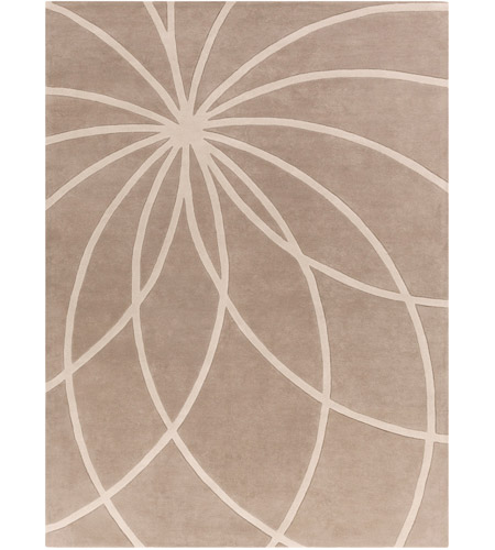 Surya FM7185-811 Forum 132 X 96 inch Neutral and Neutral Area Rug, Wool photo