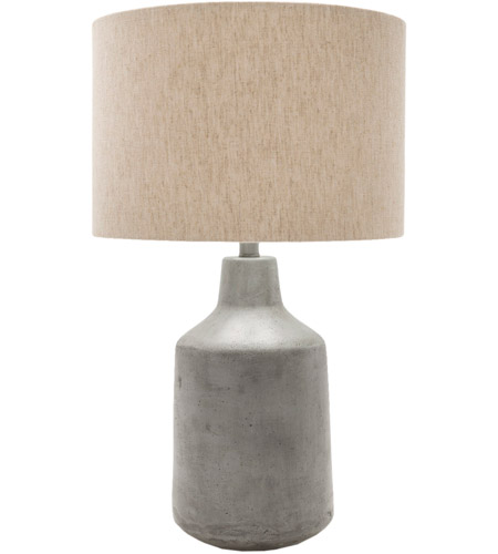 Surya FMN100-TBL Foreman 25 inch 100 watt Painted Table Lamp Portable Light photo