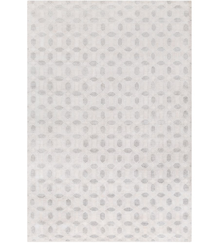 Surya FNT1001-69 Florentine 108 X 72 inch Neutral and Neutral Area Rug, Viscose photo