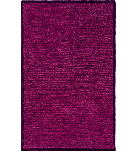 Surya FNY3004-576 Finley 90 X 60 inch Purple and Pink Area Rug, Polyester photo