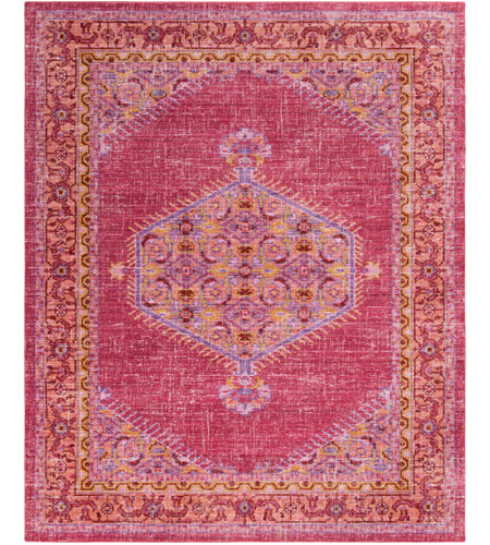Surya Ger2313 710103 Germili 123 X 94 Inch Pink And Orange Area Rug