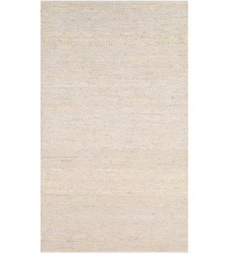Surya GNI1001-576 Giovanni 90 X 60 inch Light Gray and Beige Area Rug, Rectangle photo