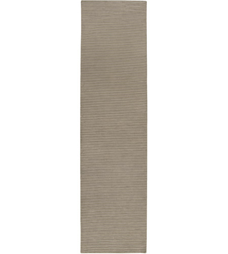 Surya IN8256-2610 Mugal 120 X 30 inch Gray and Gray Runner, Wool photo