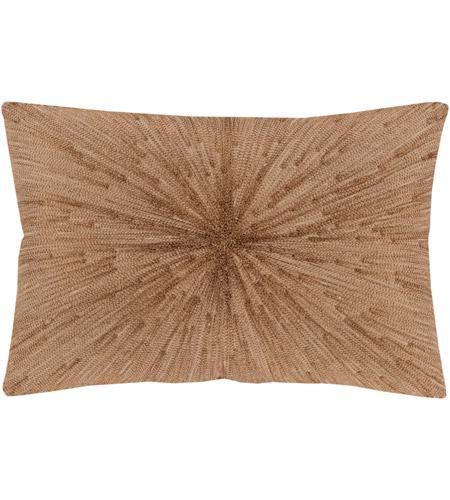 Surya Jea001 1319 Jena 19 X 13 Inch Khaki And Copper Pillow Cover Photo