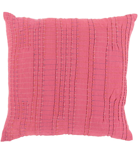 0a447f8adec Surya KN002-1818D Keaton 18 X 18 inch Bright Red and Burnt Orange Throw  Pillow