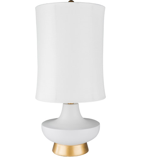 Light Gray Composition Table Lamps