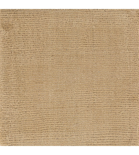 Surya M263-1616 Mystique 18 X 18 inch Khaki Indoor Area Rug, Sample photo