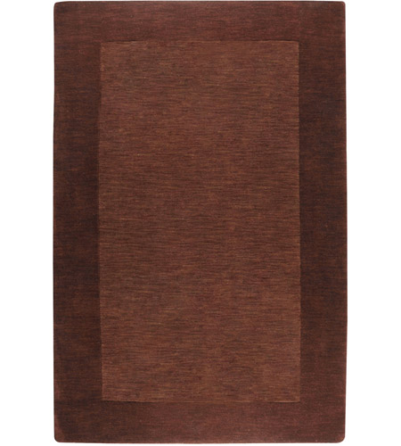 Surya M294-1215 Mystique 180 X 144 inch Dark Brown Rugs, Wool photo
