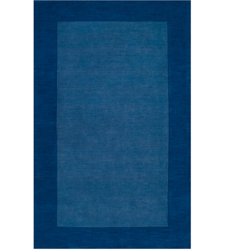 Surya M308-1215 Mystique 180 X 144 inch Dark Blue Rugs, Wool photo